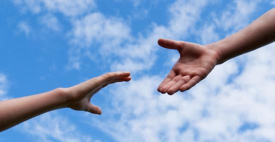 helping hand - mentoring